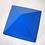 Thumbnail: Pirâmide azul de papelão - 23 cm