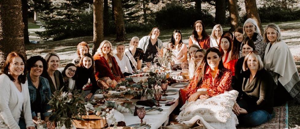 Luxury popup picnic