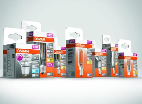 LEDVANCE lanza lámparas LED marca OSRAM en envases 100% reciclables y libres de plásticos