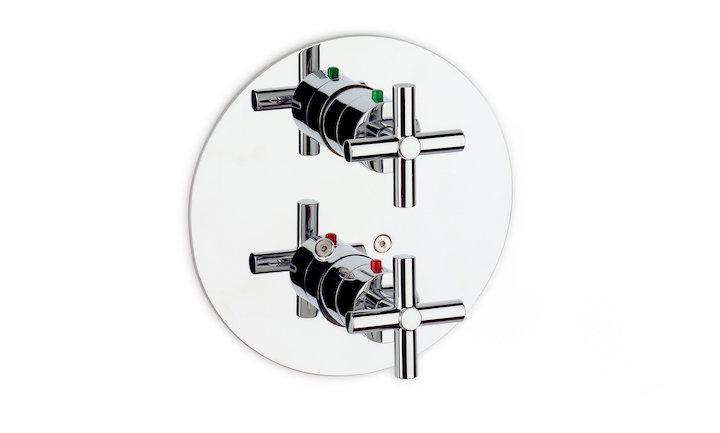 Loft Mezclador termostático empotrable para baño-ducha de Roca