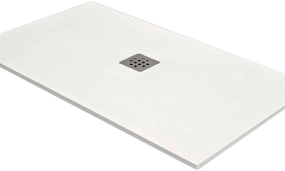 Plato de ducha SOLID color BLANCO 120X70cm