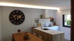 La iluminación en la cocina