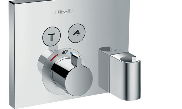 ShowerSelect termostato con 2 llaves de paso