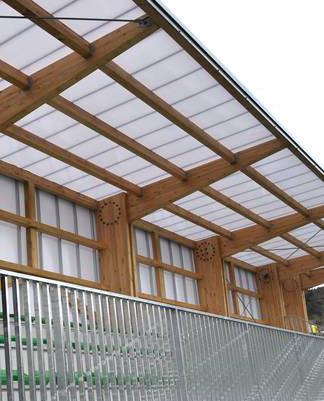 Inergetika renueva la iluminación de las gradas de Asti Txiki de Zarautz