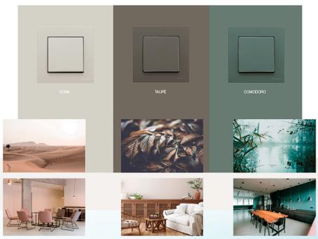 Nuevos colores Serie SKY de Niessen