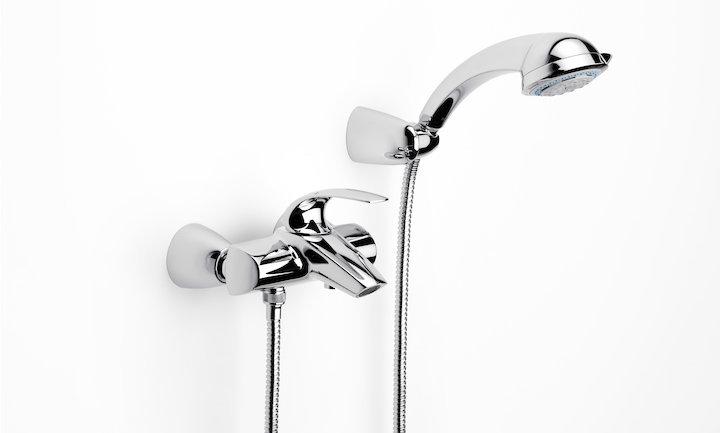 M2  monomando baño/ducha cromado de Roca