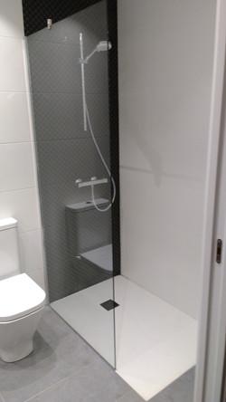 Reforma de baño en Gros (Donostia)
