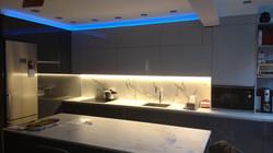 Reforma cocina iluminación LED