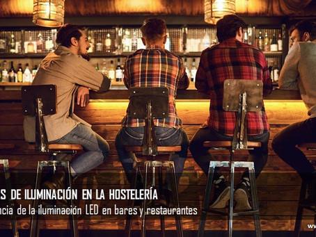 La importancia de la iluminación led en bares y restaurantes