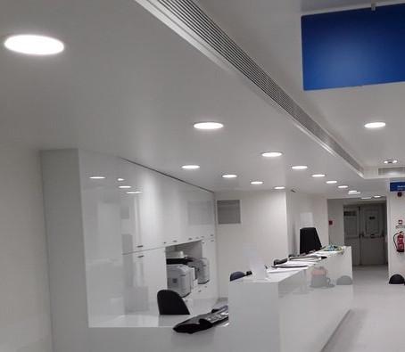 Iluminar de manera eficiente con paneles Led circulares