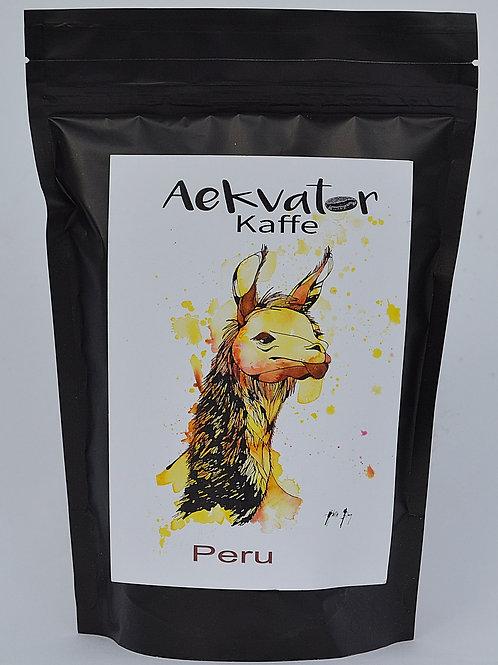 Espresso Peru nyristet specialkaffe fra Ekvator kaffe