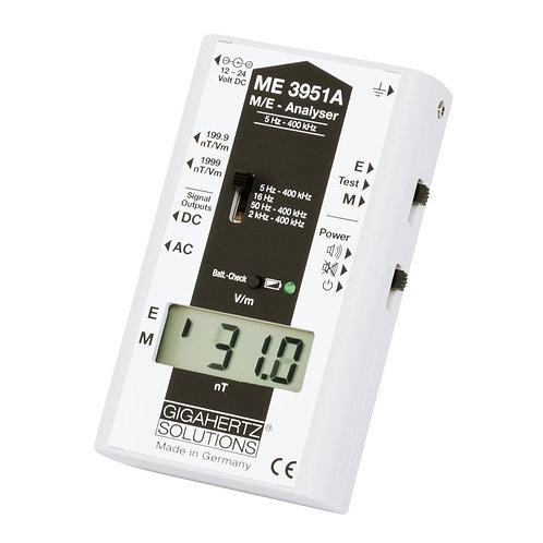 LF analysator elektriske og magnetiske felt semi professionel ME3951A Gigahertz