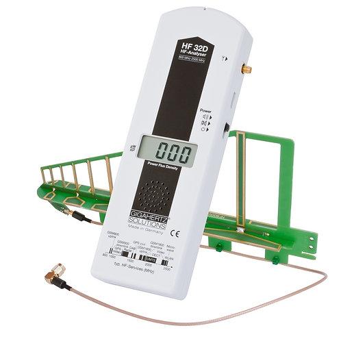 HF analysator 800 MHz til 2,5 GHz Gigahertz Solutions
