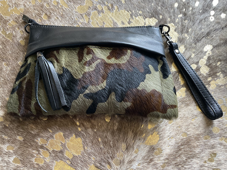 Camo Clutch Bag