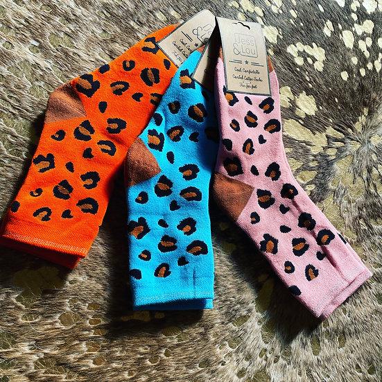 Leopard Patterned Socks