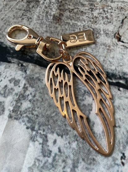 Angel Wings Keyring