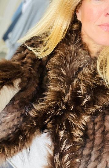 Luxury Faux Fur Cape