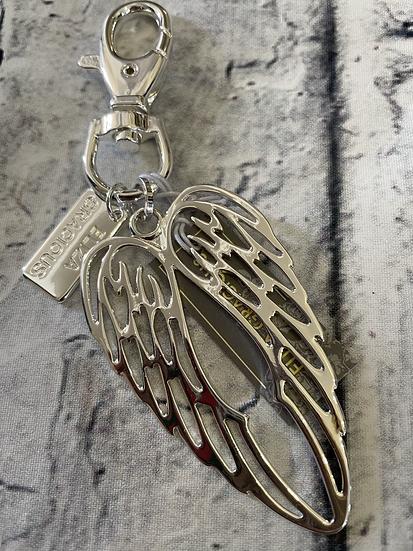 Angel Wings Key Ring