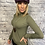 Thumbnail: Amazing Woman Basic Roll Neck Knitted Top