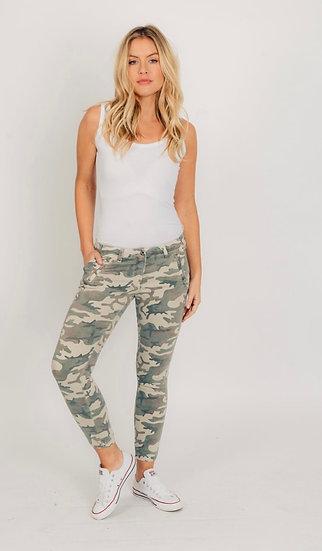 Camo Skinny Trousers