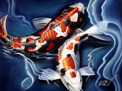 Musical Koi *Celtic Music-inspired*