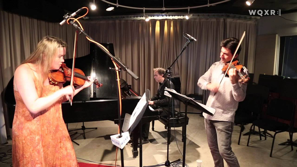 Matt Herskowitz Trio with Philippe Quint and Lara St. John Play Bach's Double Concerto