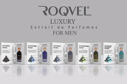 ROQVEL Luxury Erkek Parfüm Deneme Seti 5 Adet X 3 Ml