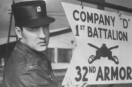 Elvis Presley U.S. Army
