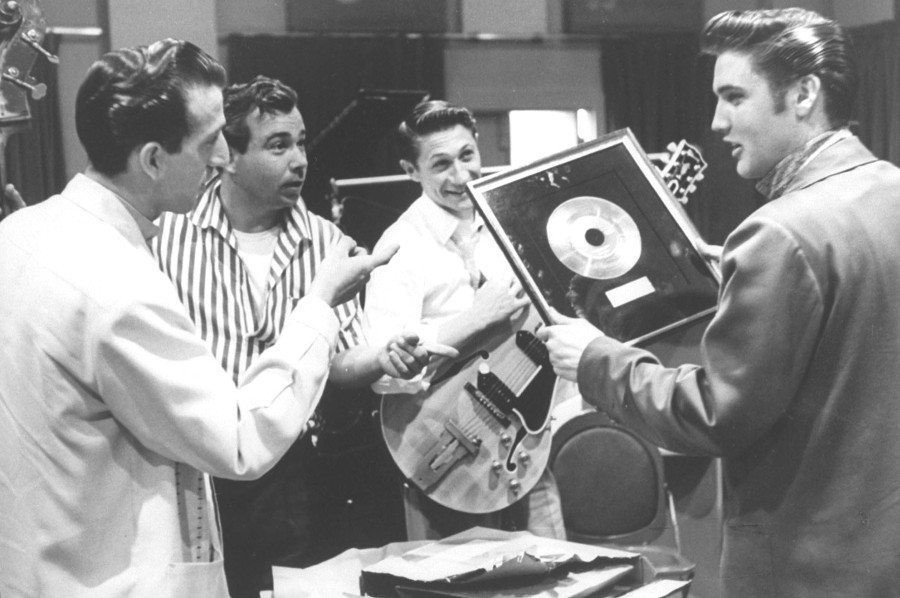 Elvis Presley Platinum Record