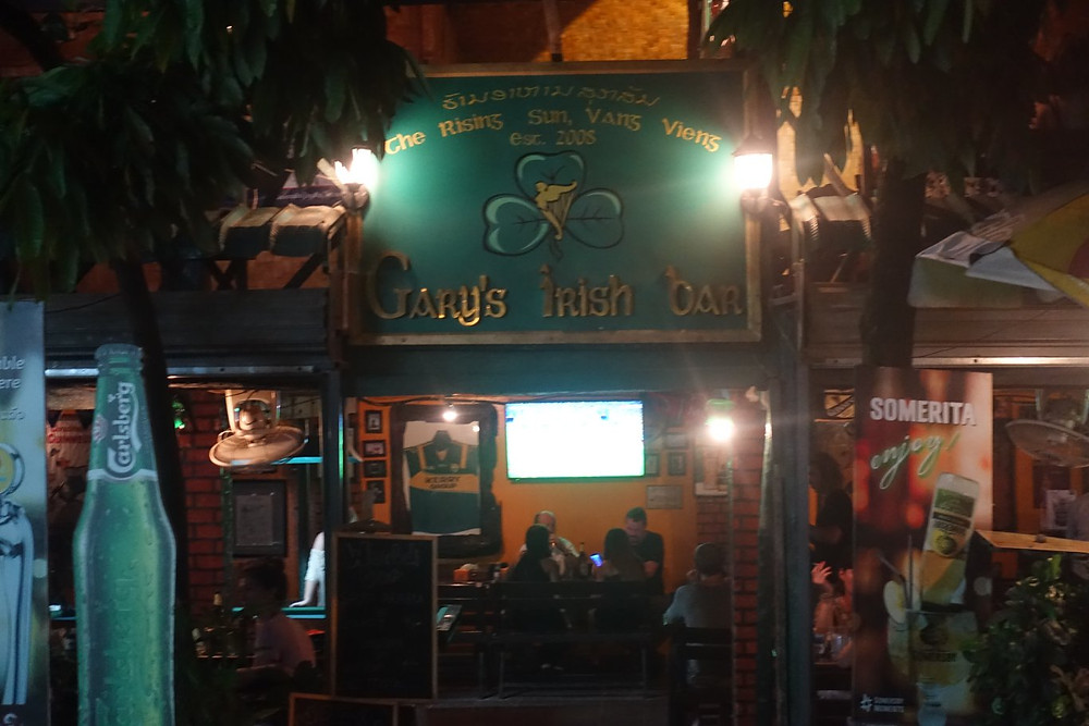 Gary's Irish Bar Vang Vieng