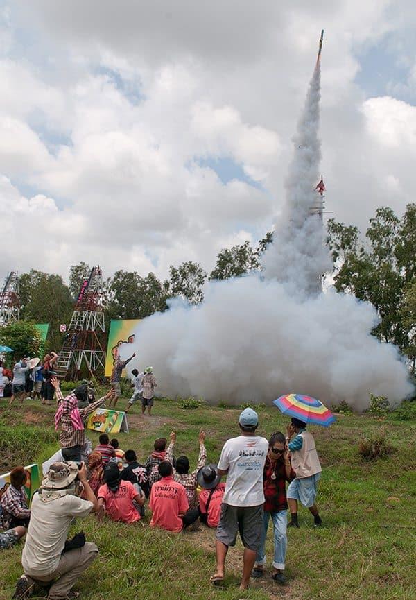 Rocket Festival in Boon Bang Fai