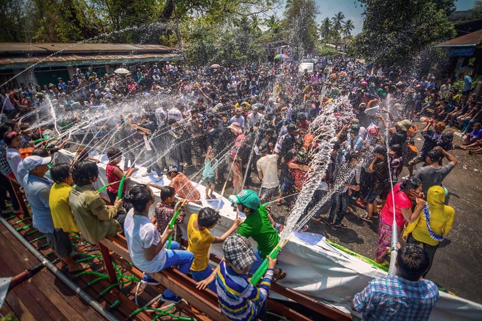 Water Festival in Songkran