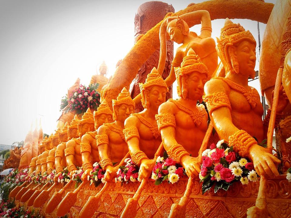 Candle Festival in Ubon Ratchathani
