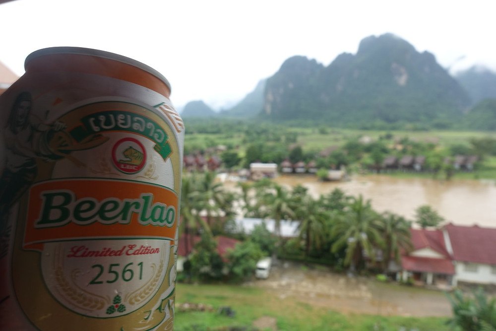 Beerlao at the Amari Hotel Vang Vieng