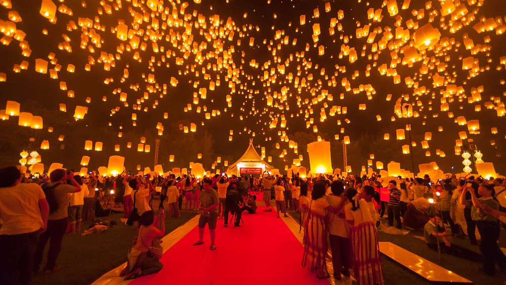 Lantern Festival in Yi Peng