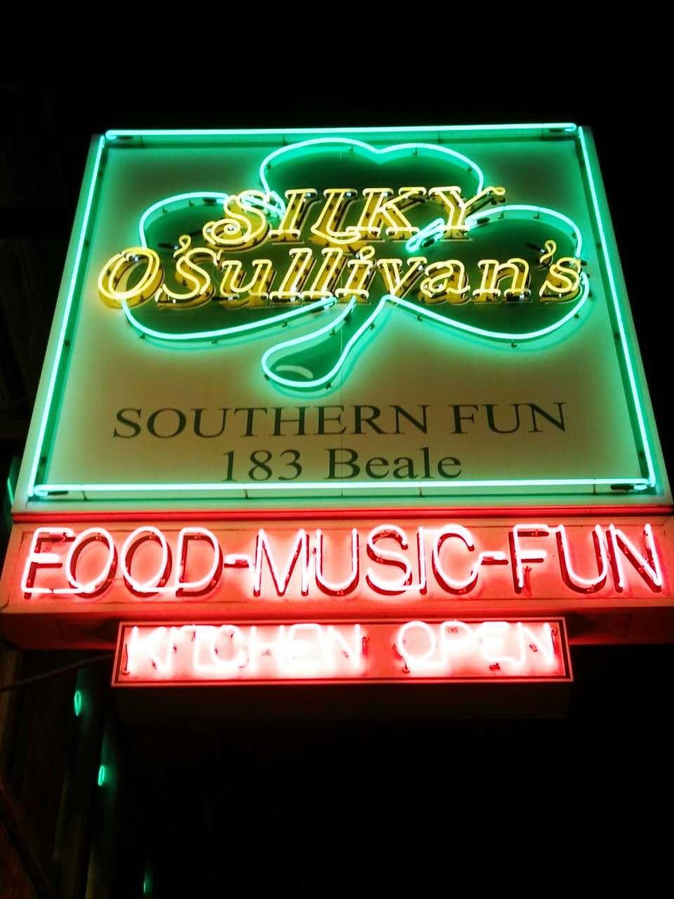 Silky O'Sullivan's Beale Street Memphis
