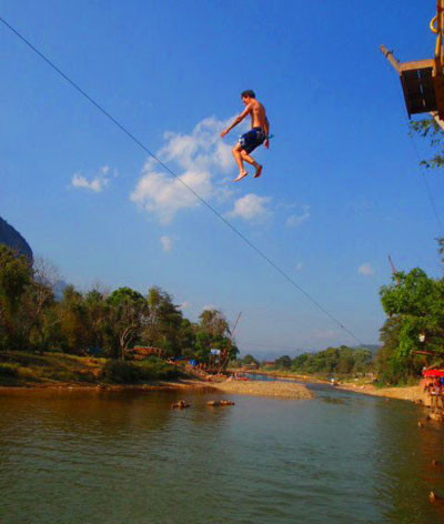 Nam Song River Bar Vang Vieng