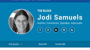 Jodi's Times Of Israel Blog