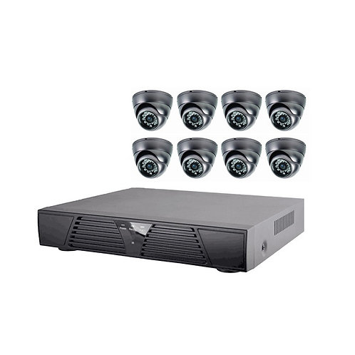 KIT VIDEO SURVEILLANCE KIT8B102 8 CAMERAS AHD 720P