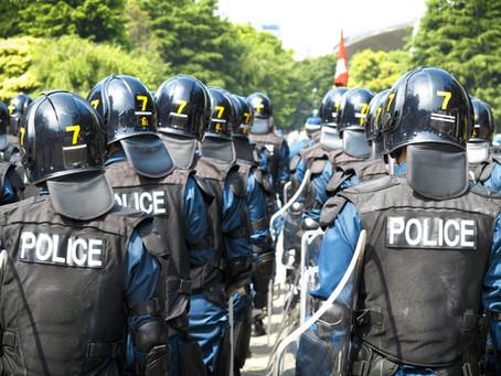Faszystowskie zatrzymania przez Policję