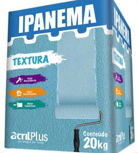 Acril plus textura ipanema 20 kg  avista