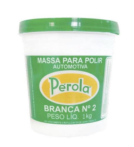 Massa Polir base Solvente Perola 1 kg