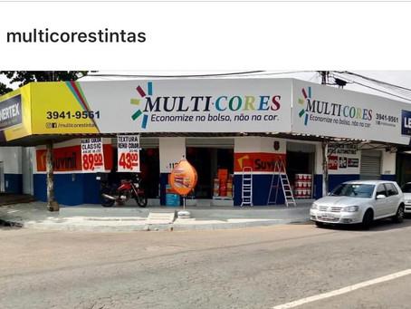 Multicores Tintas imobiliarias, industriais e automotivas televendas 062 3941-9561