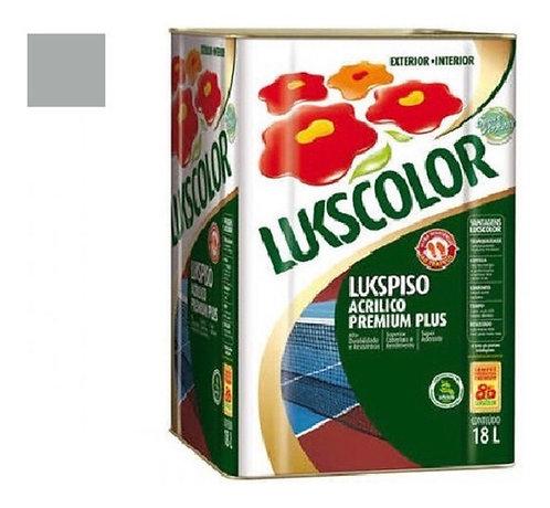 Lukscolor tinta piso 18 litros cores variadas