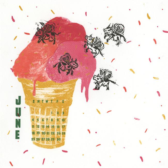 June 2017 Calendar Collective