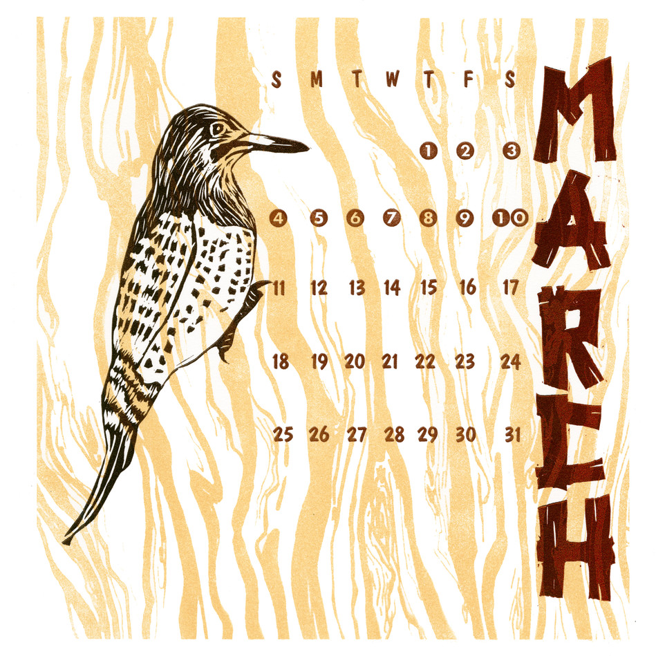 March 2018 Calendar Collective