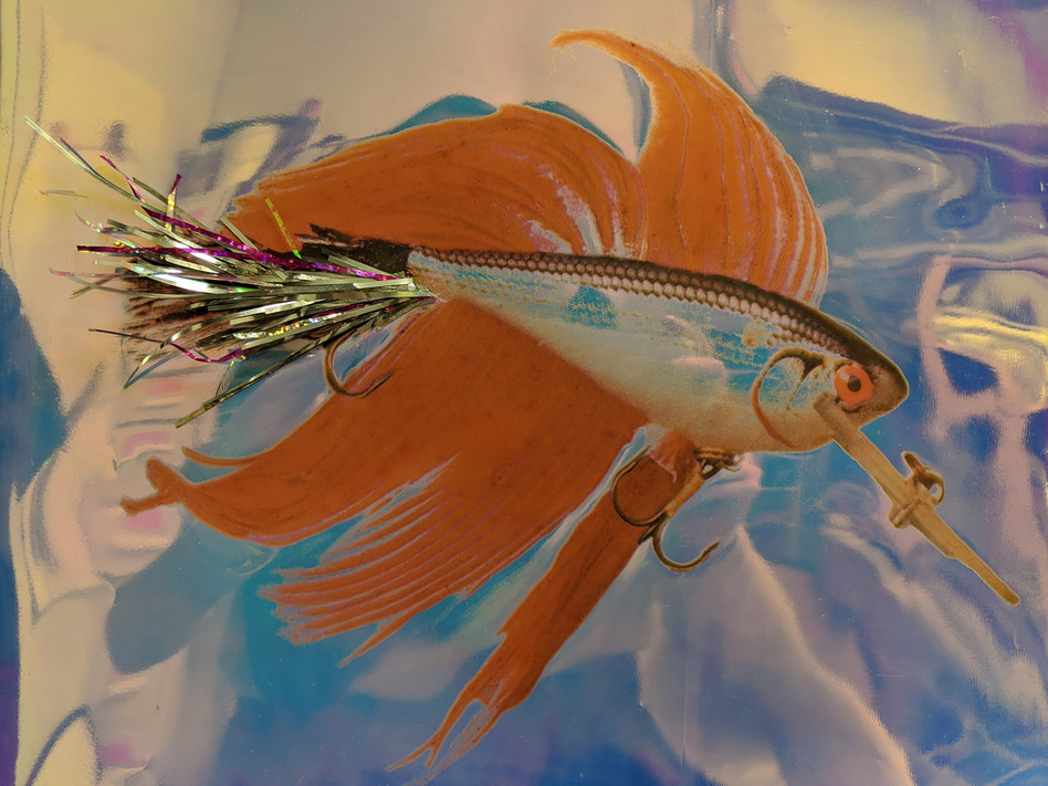 Red Betta Rapala in Glam