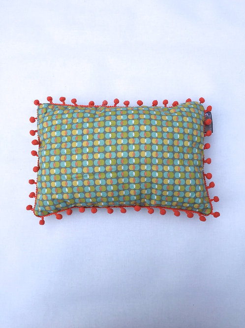 Coussin personnalisable (bubbling circles/pompom)