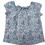 Thumbnail: Blouse Emma (fleuri bleu)