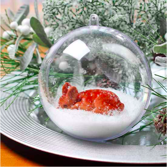FDC Craft fillable ball ornament